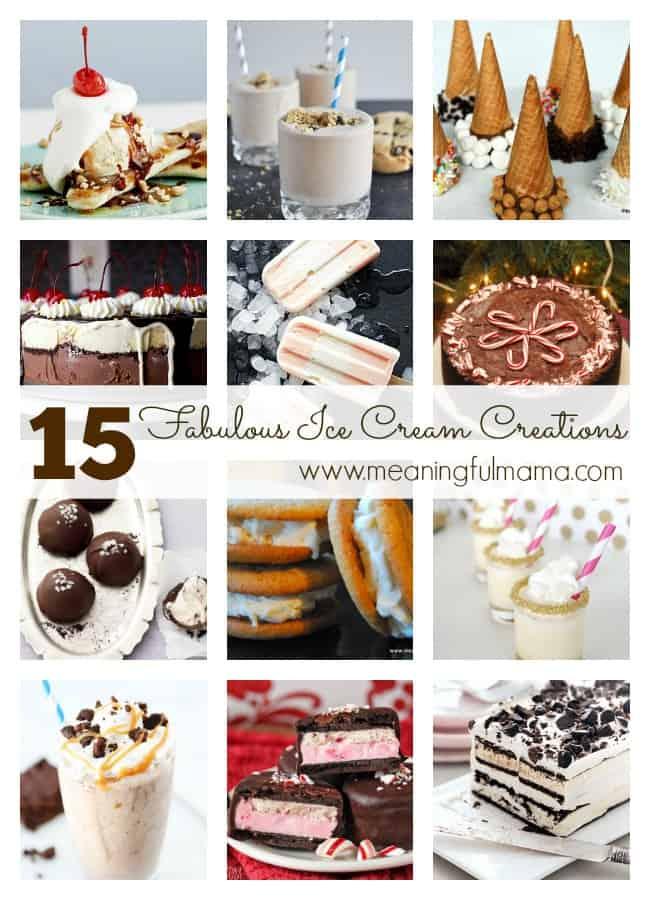 ice cream dessert ideas