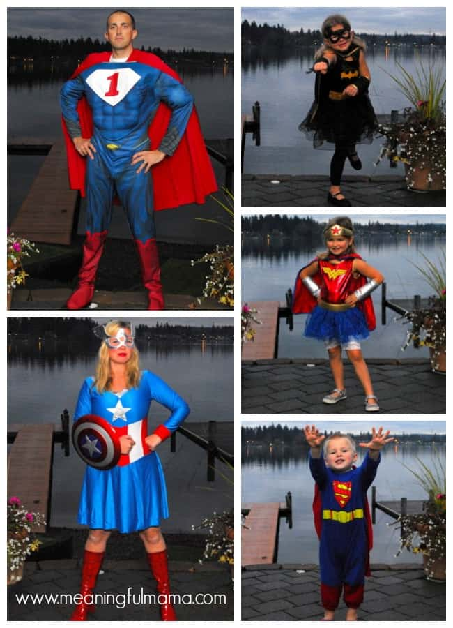 family costume ideas super heroes