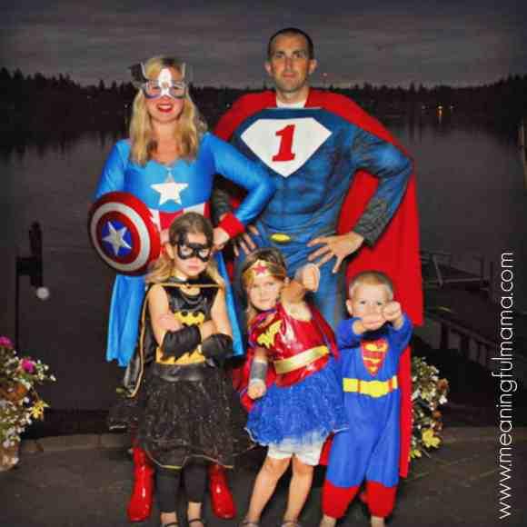 family costume ideas superhero