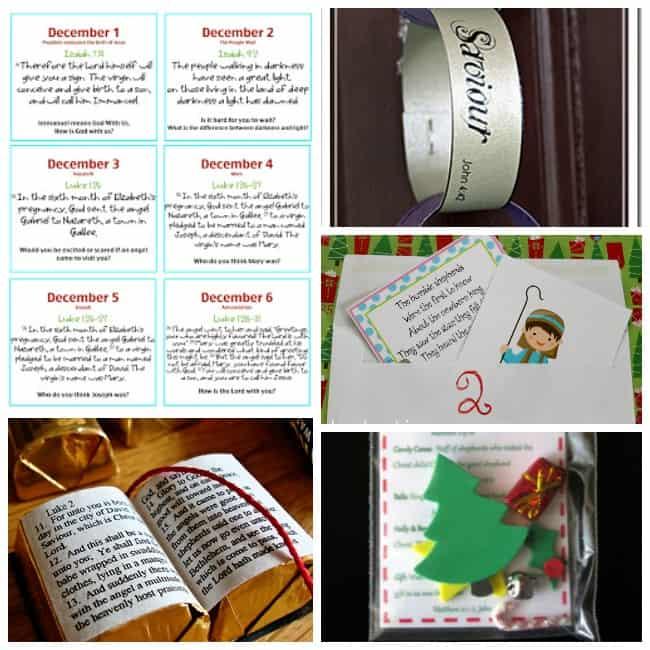 Christmas scripture activities