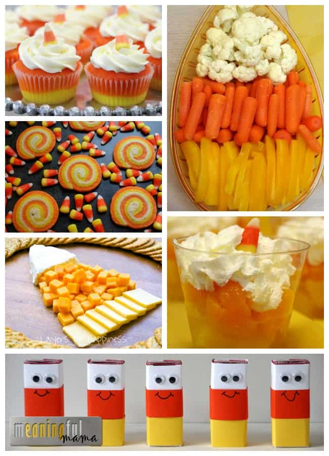candy corn food harvest party