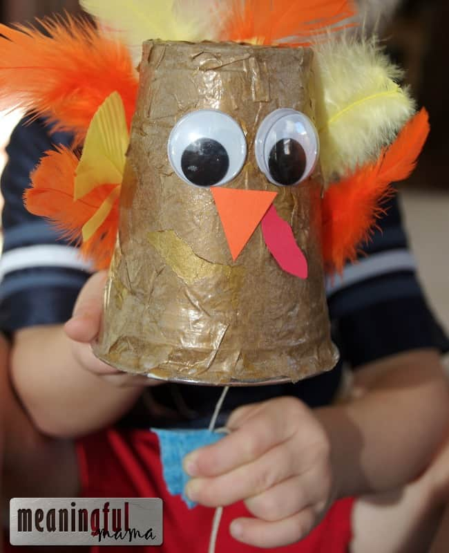turkey craft makes noise gobble