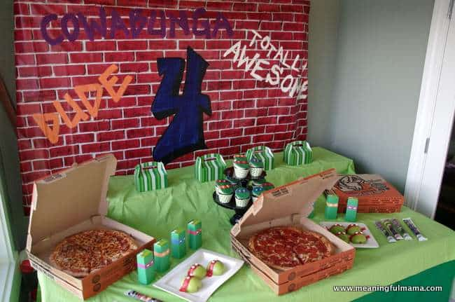 1-teenage mutant ninja party food and table ideas Nov 23, 2014, 2-16 PM