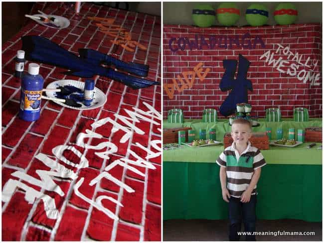 1-teenage mutant ninja turtle backdrop ideas Jan 17, 2015, 3-30 PM