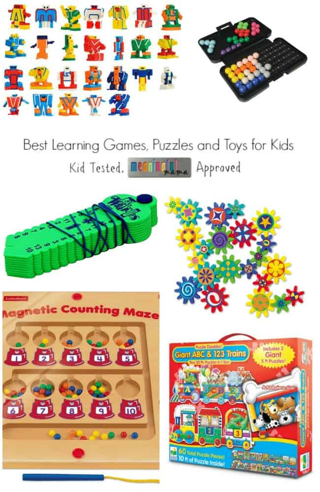 Best Learning Games, Puzzles and Toys