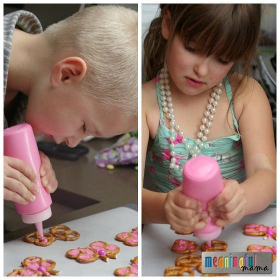 How to Make Candy Butterfly Pretzels