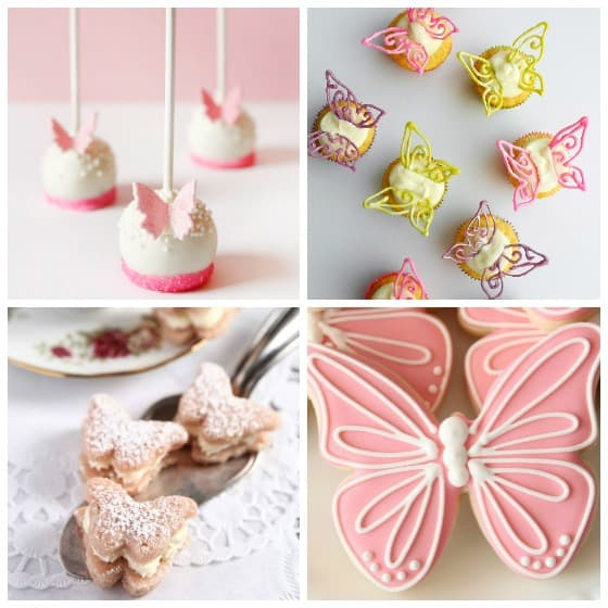 Beautiful Butterfly Dessert Options - Party