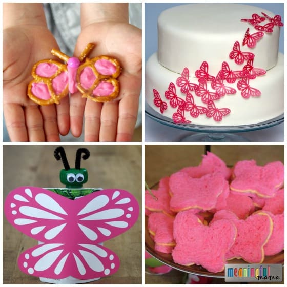 Butterfly Food Ideas for a Butterfly Party