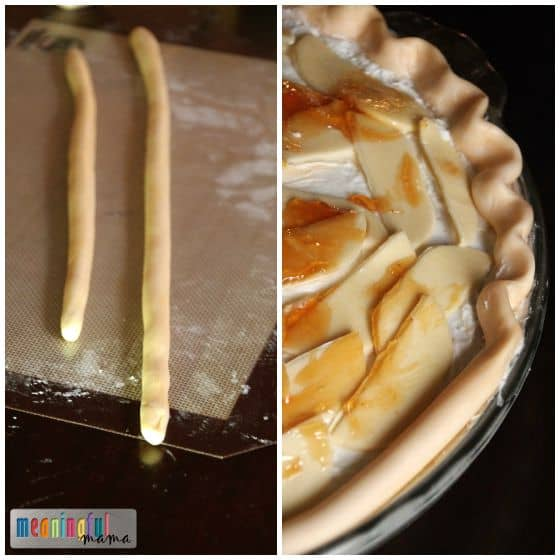 Cake that Looks Like Apple Pie
