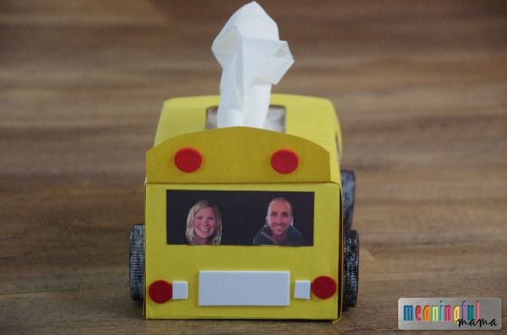 Tissue Paper School Bus Craft for Kids Sep 3, 2015, 1-04 PM