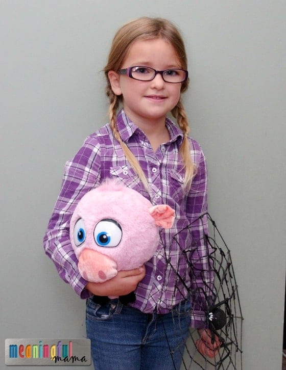 Fern Charlotte's Web Book Character Costume Oct 31, 2014, 6-53 AM