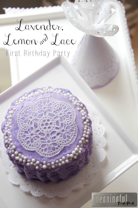 Lavender, Lemon and Lace First Birthday Party Jul 11, 2015, 1-17 PM