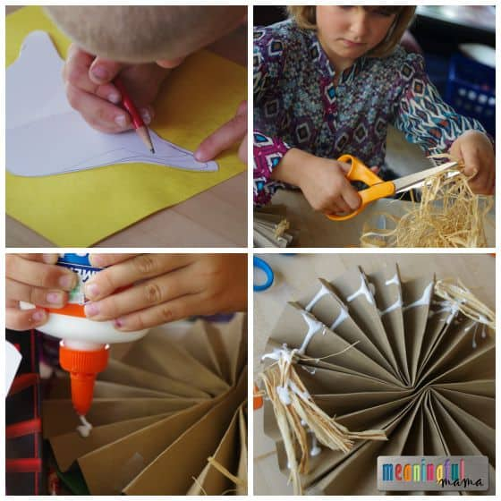 Pinwheel Scarecrow Craft for Kids