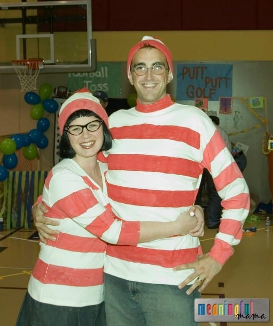 Waldo and Wenda Halloween Costume DIY