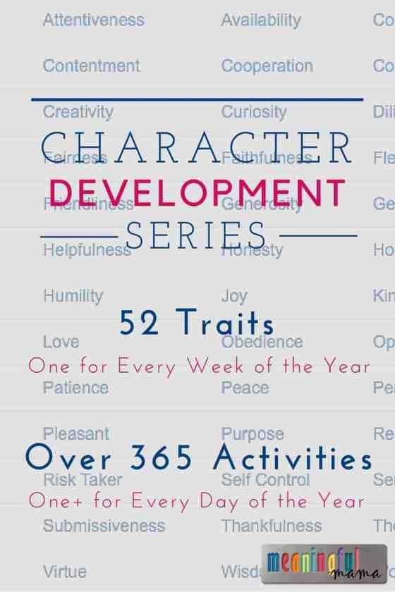 Character Development Series
