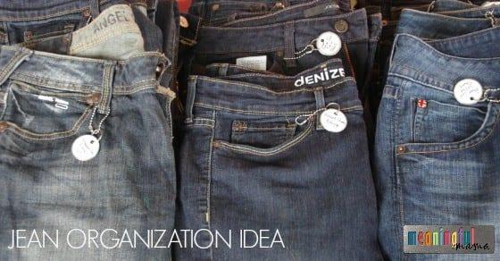 Jean Organization Idea - Life Hack