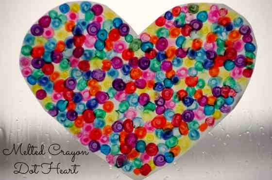 #valentinescraft melted crayon dot heart-014