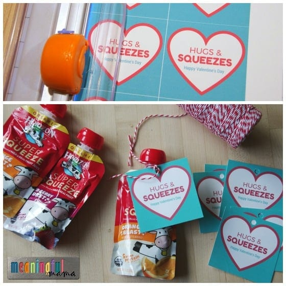 Hugs & Squeezes Valentine's Day Party Food