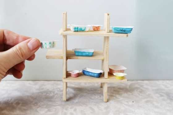 how to build dollhouse furniture. You Will Feel Like Are Peeking Into A Real Home Just Look At How She Used Miniprints To Decorate Part Of The Living Room DIY Dollhouse Build Furniture S