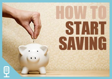 |Saving into a piggy bank