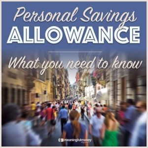 The Personal Savings Allowance – MMV301