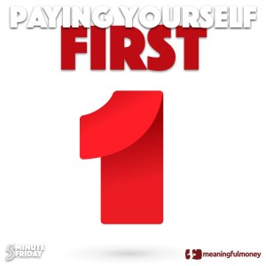 Paying Yourself First – 5MF033