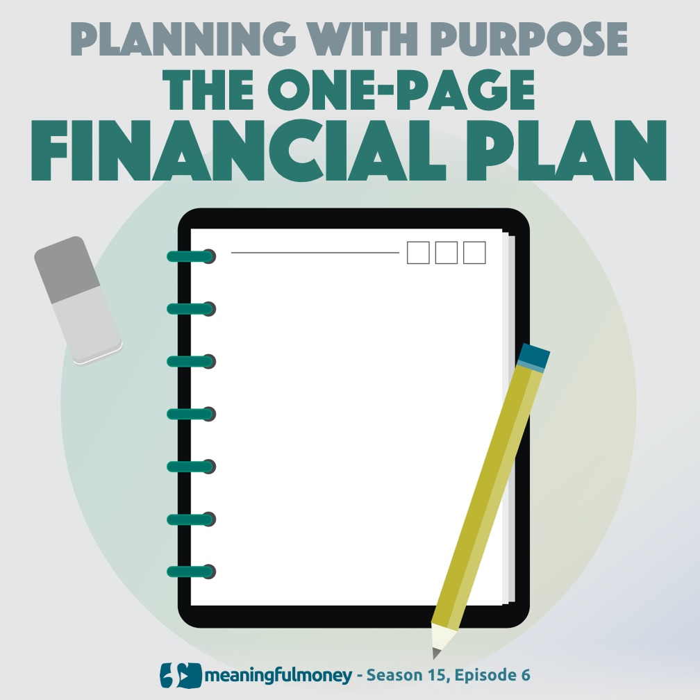 The one-page financial plan