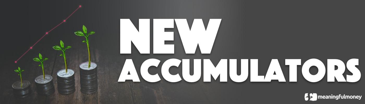 New Accumulators