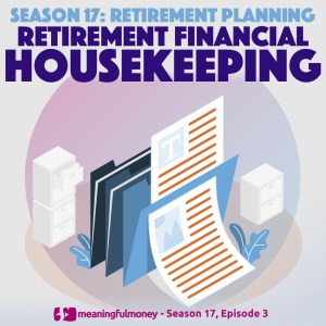 Financial Housekeeping in Retirement