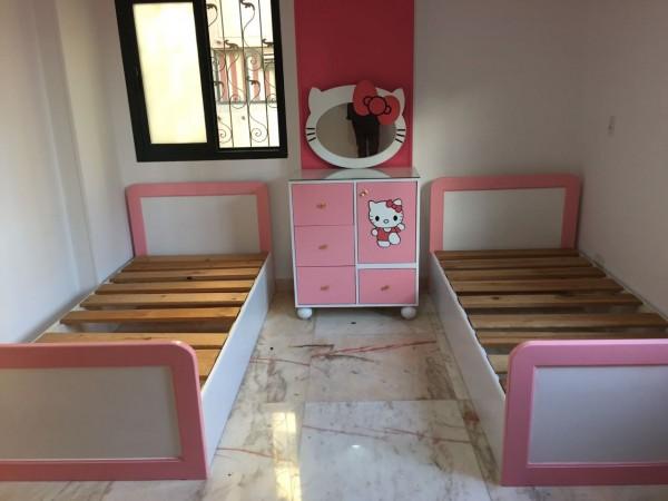 غرف اطفال بسريرين غرف طفولية حلوة معنى الحب