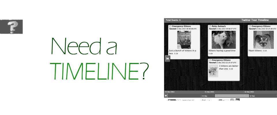 Need a timeline?