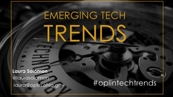 Emerging Tech Trends Spring 2017