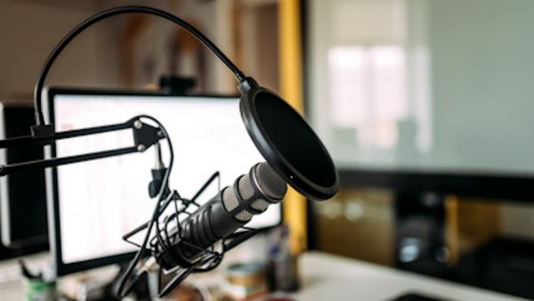 Podcasting studio