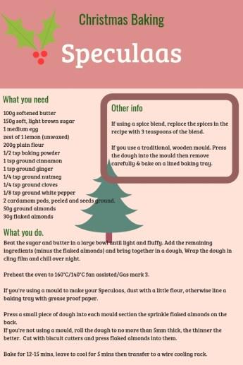 christmas speculaas recipe