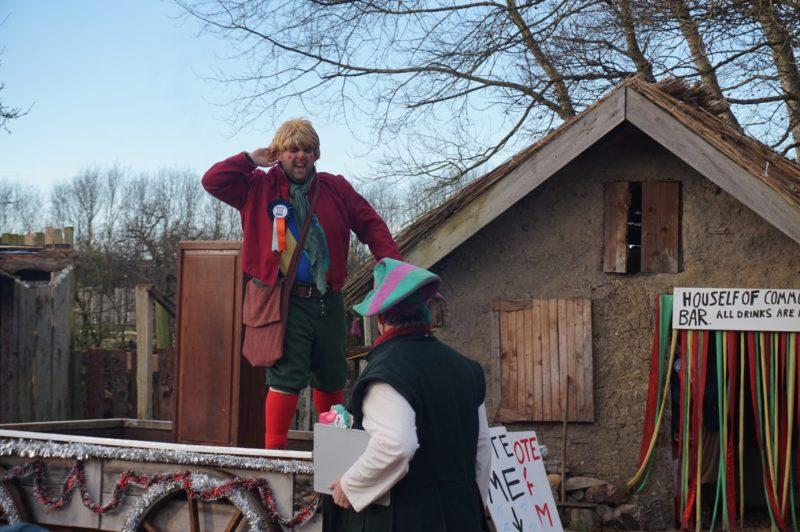 Santa Special at Murton Park boris Johnson