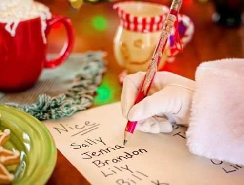 Santa Baby - A Mum's Christmas List