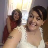 Secret wedding diary - dress on!