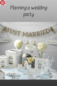 Planning a Wedding Party #wedding #weddings #party #weddingplanning #partyplanning #weddingideas #partyideas