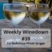 Weekly Winedown #39 #pinotgrigio #italian #italianwine #italianwhite #italianpinot