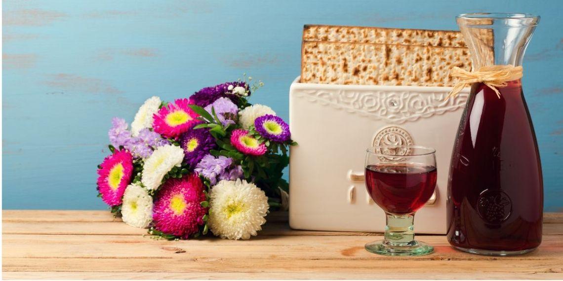 Head Honcho Merlot caraf and flowers