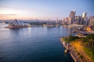 Long haul holidays Sydney Opera house