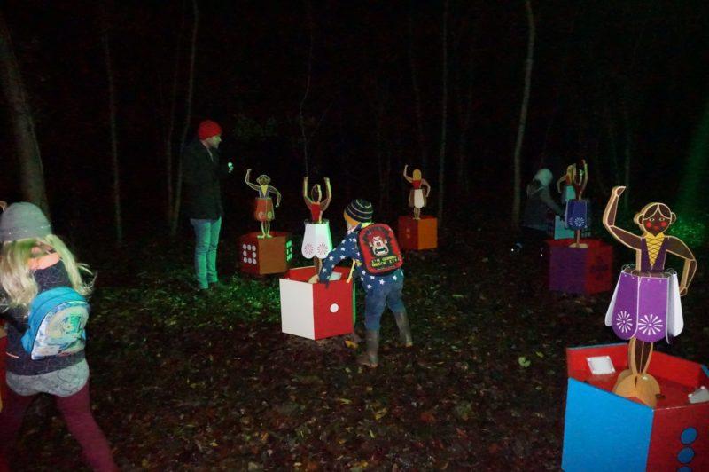 Christmas Experience Lotherton Hall Woodland walk
