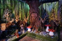 Little Diggers Christmas Grotto talking tree