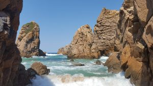 Portugal Family Holiday beach and rocks