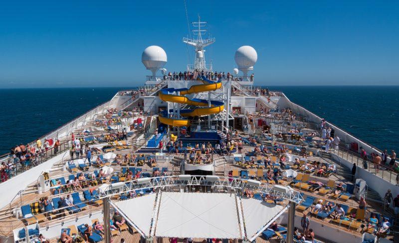 Family Luxury Cruise Deck