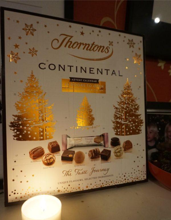 best advent calendars Thornton's Continental