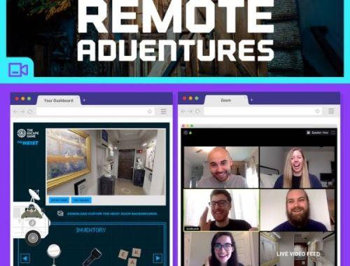 The Escape Room remote adventures