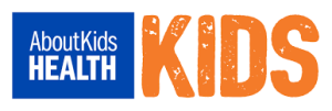 about kids health kids logo