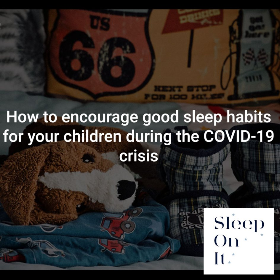 How to encourage good sleep habits during COVID
