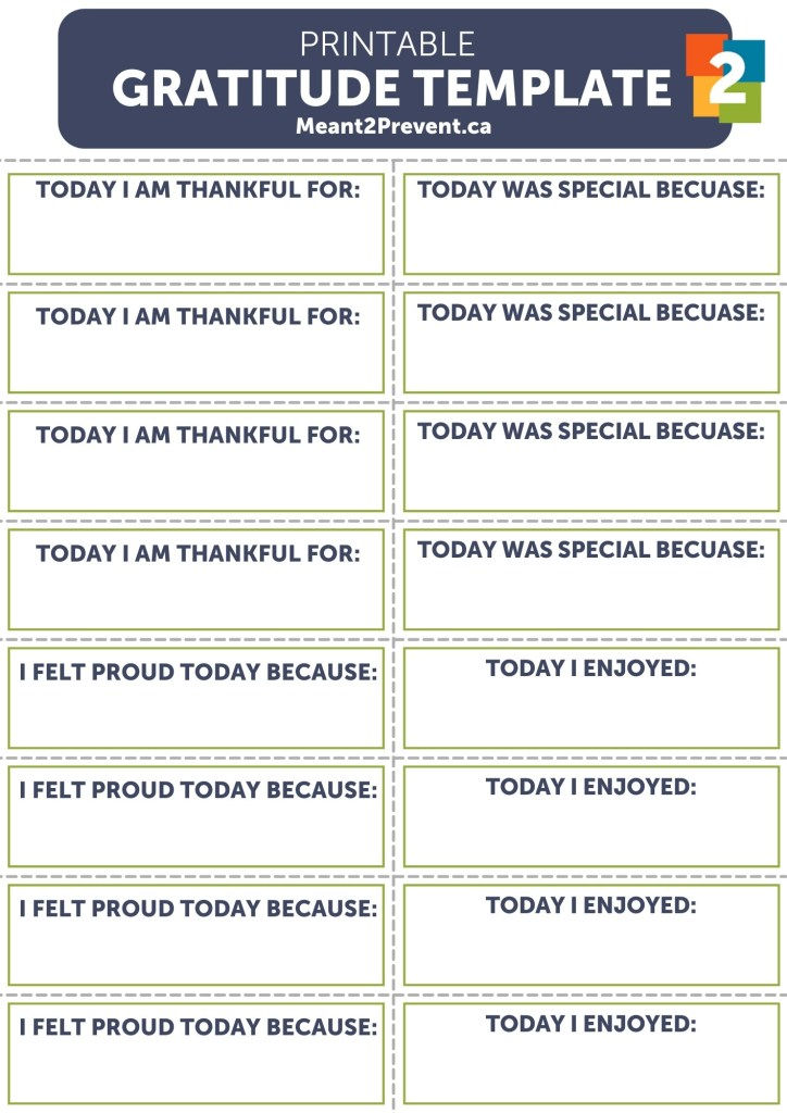 printable gratitude slip template with writing prompts